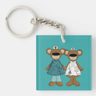 Nurses are Blessing from God. Gift Keychains