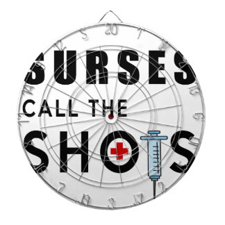Nurses call the shots dartboard