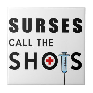 Nurses call the shots tile