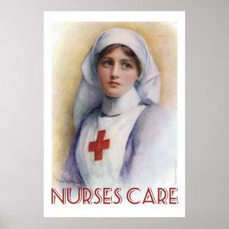 Nurses Care Poster