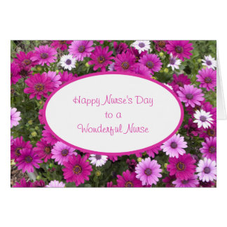 Nurses Day Greeting Card to a Wonderful Nurse