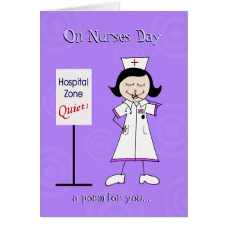Nurses Day Poem Card