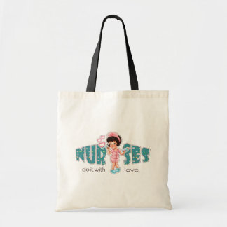 Nurses do it with Love. Gift Tote Bags