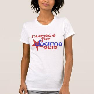 Nurses for Obama Tshirt
