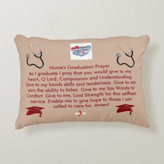 Nurse's Graduation Prayer Decorative Pillow
