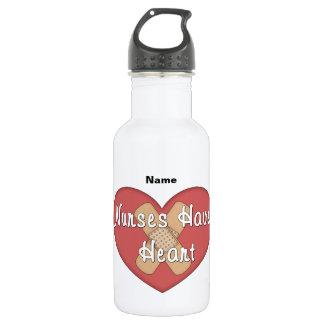 Nurses Have Heart (personalized) 532 Ml Water Bottle