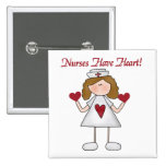 Nurses Have Heart T-shirts and Gifts Pins