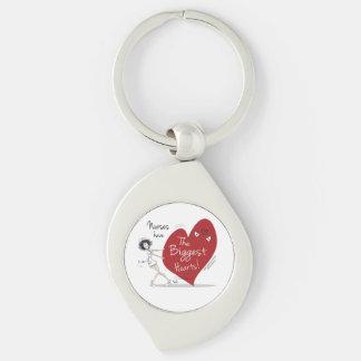 Nurses have the Biggest Hearts Keychain