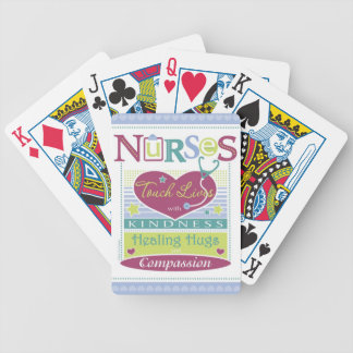 Nurses Inspirational deck of playing cards