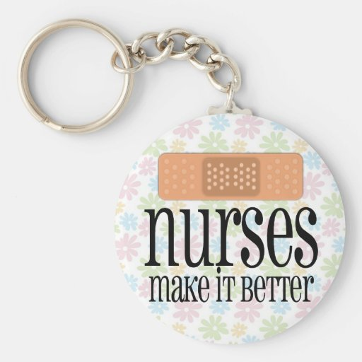 Nurses Make it Better, Bandage Keychain