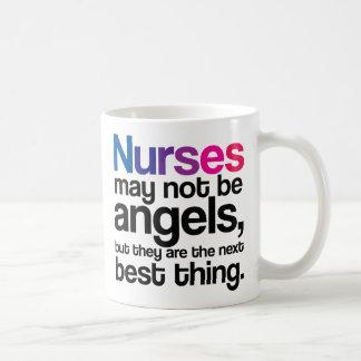 Nurses May Not Be Angels Coffee Mug