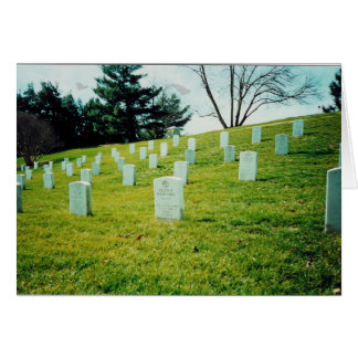 Nurses Memorial Arlington National Cemetery Card