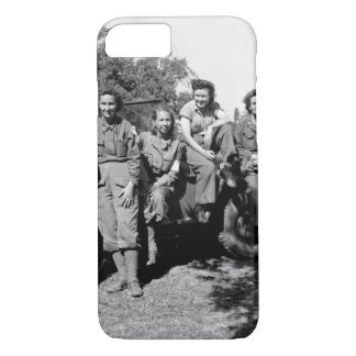 Nurses of a field hospital who arrived_War Image iPhone 7 Case