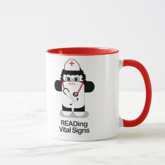 Nurses READ Vital Signs Mug