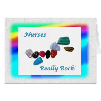 Nurses Really Rock! Card