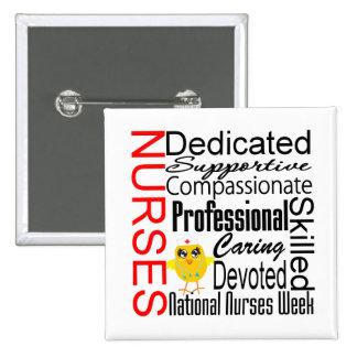 Nurses Recognition Collage National Nurses Week Pins