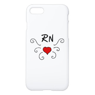Nurses RN Love Tattoo iPhone 8/7 Case