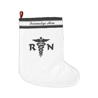 Nurses RN Nursing Large Christmas Stocking