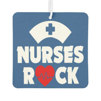 Nurses Rock car air freshner Air Freshener