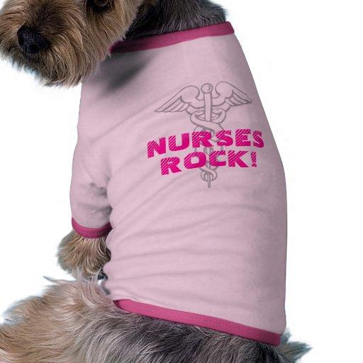 Nurses Rock! Dog Shirt