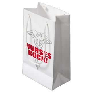 Nurses Rock gift bag for nursing week party favors