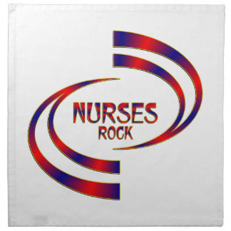 Nurses Rock Napkin