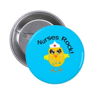 Nurses Rock Pin