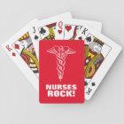 NURSES ROCK playing cards for nursing week & day