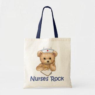 Nurses Rock Tote Bag