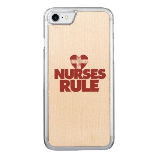 Nurses RULE Carved iPhone 7 Case