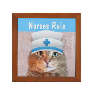 Nurses Rule Desk Organizer