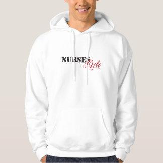 nurses rule hoodie