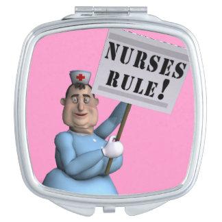 Nurses Rule! Travel Mirrors