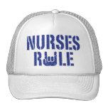 Nurses Rule Trucker Hats