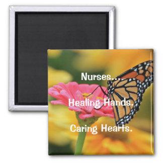 Nurses Square Magnet