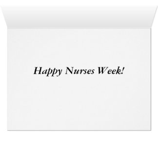 Nurses week card