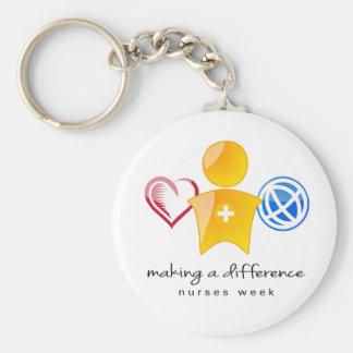 Nurses Week Keychain