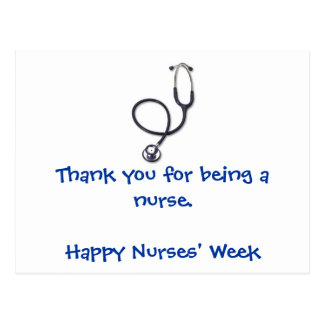 Nurses' Week postcard