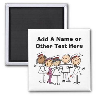 Nurses Week T-shirts and Gifts Square Magnet