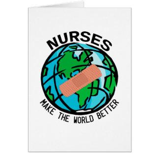 Nurses World Notecard
