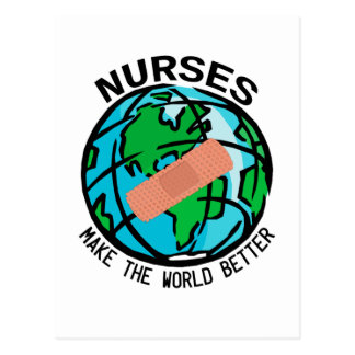 Nurses World Postcard