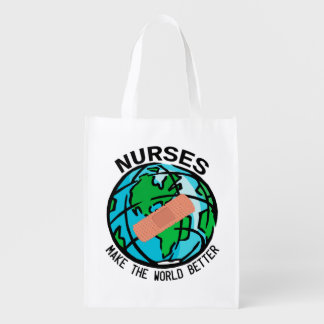 Nurses World Reuseable Bag Reusable Grocery Bag