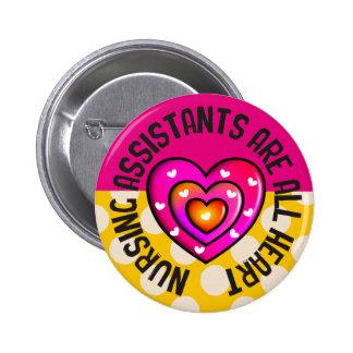 Nursing Assistants All Heart Button