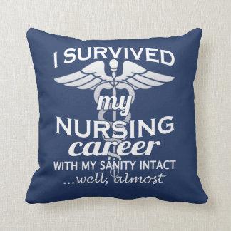 Nursing Career Throw Pillow