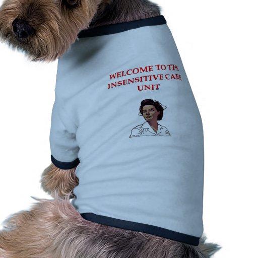 nursing dog tee shirt