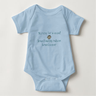 Nursing for a cause! baby bodysuit
