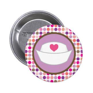 Nursing Gift Heart Hat Pin