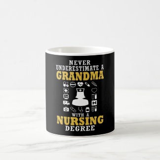 Nursing Grandma Coffee Mug