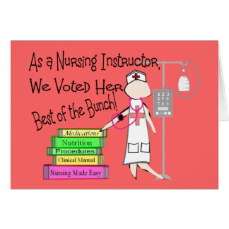 NURSING INSTRUCTOR Gifts Card