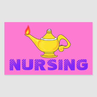 Nursing Lantern Sticker